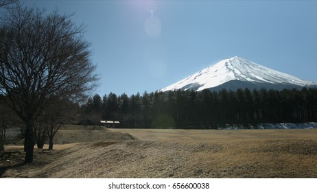 Mt Fuji and sunshine