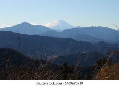 Mt Fuji view from Mt Takao