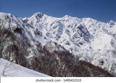 Mt. Goryu / Hakuba valley snow resort, Nagano