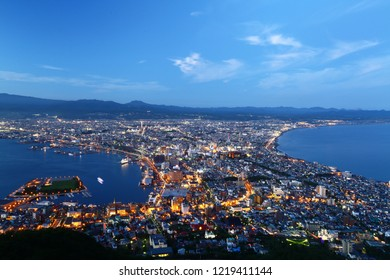 Mt. Hakodate is 334 meters above the sea. Hakodate's urban area and the sea stretch out from the foot of the mountain. It makes the most beautiful view point in Japan.
