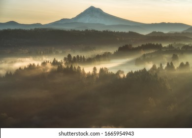 Mt hood from the jonsrud viewpoint