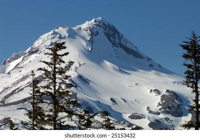 Mt Hood summit, Oregon