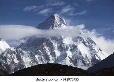 Mt. K2 World's 2nd ighest peak in Pakistan.