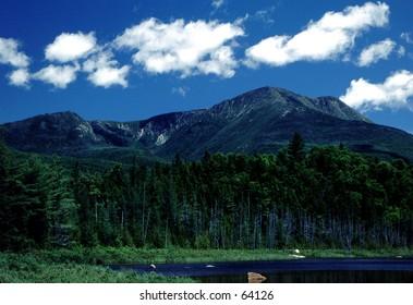 Mt. Katadyn in Baxter State Park, Maine
