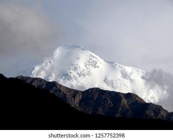 Mt.  khatung Kang of Annapurna Range Nepal