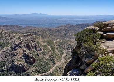 Mt Lemmon Scenic byway near Tucson, Arizona