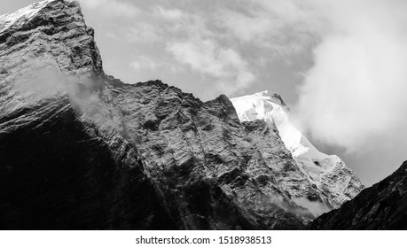 Mt Manaslu in morning light