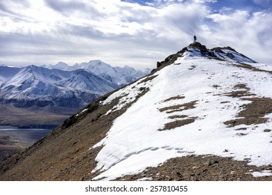 Mt. McKinley - across the Summit