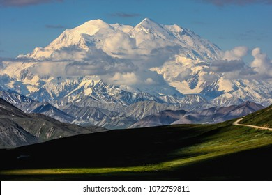 Mt McKinley, Denali National Park, Alaska, USA