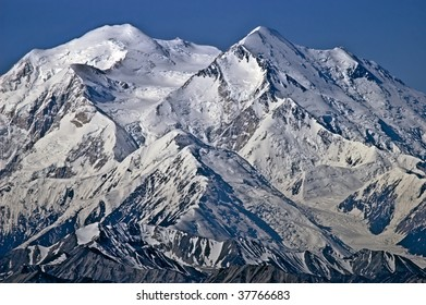 Mt. McKinley north and south peaks