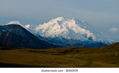 Mt. McKinley Panorama with Tundra