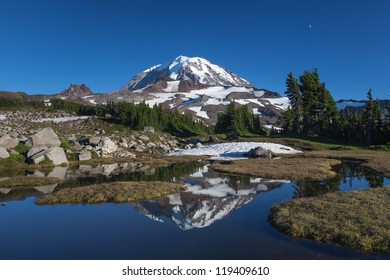 Mt. Rainier and Reflection