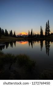Mt Rainier Reflection In Tipsoo Lake