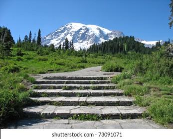 Mt. Rainier Steps
