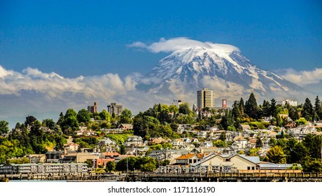 Mt. Rainier from Tacoma, WA