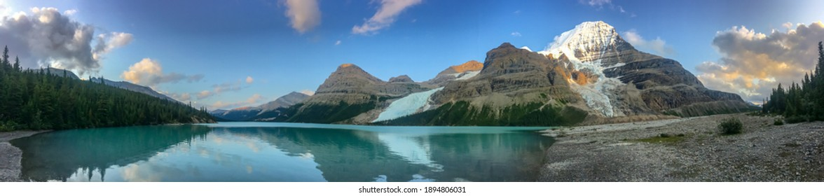 Mt. Robson and Berg Lake - Highpoint of the Canadian Rockies