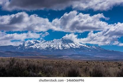 Mt Ruapehu, North Island New Zealand