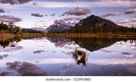 Mt. Rundle Vermillion Lake Banff Alberta Canadian Rockies