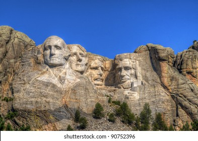 Mt. Rushmore National Memorial in South Dakota.