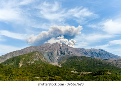 Mt. Sakurajima Eruption