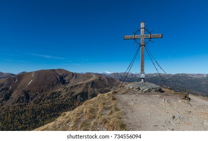 Mt. Schoberriegel 2.208m In Carinthia, Austria - Faith - Hope - Love