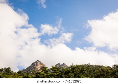 Mt. Seorak range