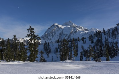 Mt Shuksan in Winter