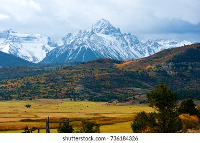 Mt. Sneffels near Ridgway Colorado