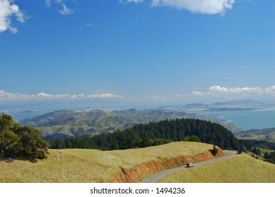 Mt. Tam, Marin County, northern California