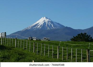 Mt. Taranaki from Hurford RD.