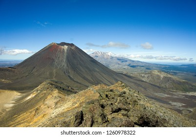 Mt Tongariro, Tongariro Alpine Crossing, New Zealand