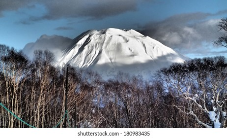Mt Yotei volcano