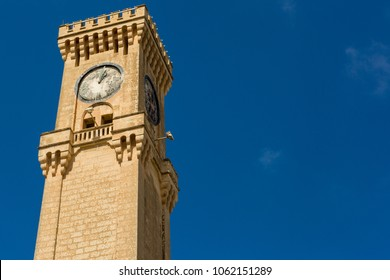 The Mtarfa Clock Tower in Mtarfa, Malta