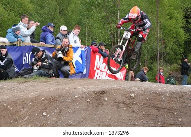 MTB World Cup 2006 at Fort William Scotland - Downhill Final