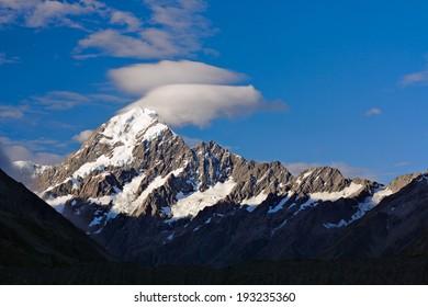 Mt.Cook (aka. Mt.Aoraki), New Zealand