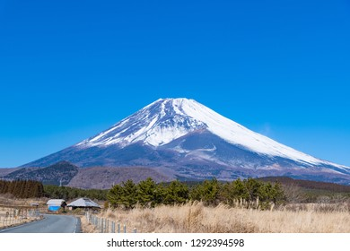 Mt.Fuji of clear weather