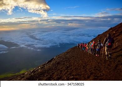 Mt.Fuji climbing