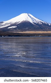 mt.fuji from lake yamanaka