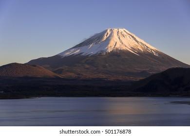 mt.fuji from motosu lake