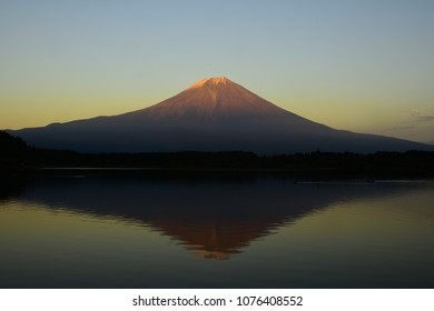 Mt.Fuji at Twilight Time