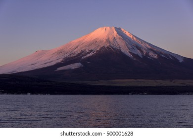 mt.fuji from yamanaka lake
