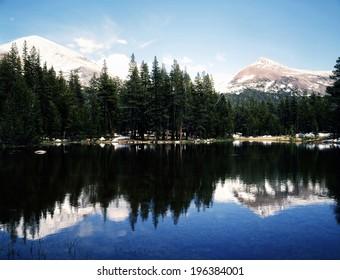 Mt.Gibbs and Mt.Dana in Yosemite National Park, California