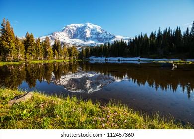 Mt.Rainier reflection