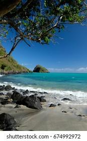 Mtsamboro beach, Mayotte island, France
