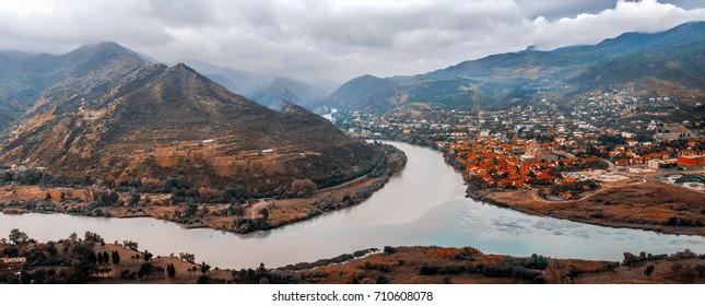Mtskheta view, Georgia