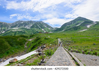 Mt.Tateyama in the Northern Japan Alps, Toyama, Japan