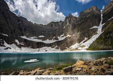 Mt.Wilbur and Iceberg lake, Glacier Narional Park