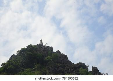 Mua mountain in Tam coc, Vietnam