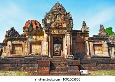 Muaeng Tom castle at Buriram ,Thailand.