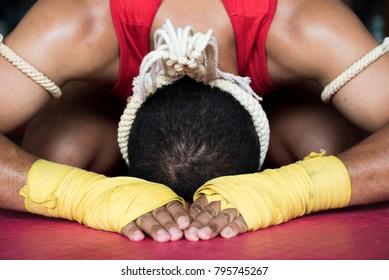 Muay Thai bow